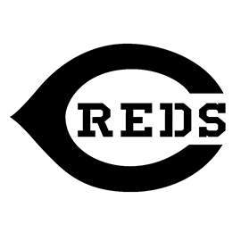 MLB – Cincinnati Reds Logo Stencil