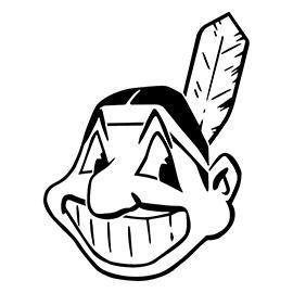 MLB – Cleveland Indians Logo Stencil