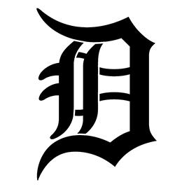 MLB – Detroit Tigers Logo Stencil