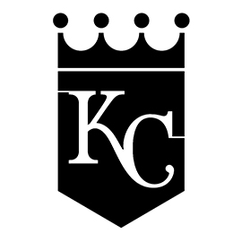 MLB – Kansas City Royals Logo Stencil