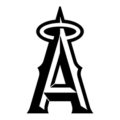 MLB - Los Angeles Angels Logo Stencil