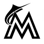 MLB - Miami Marlins Logo Stencil