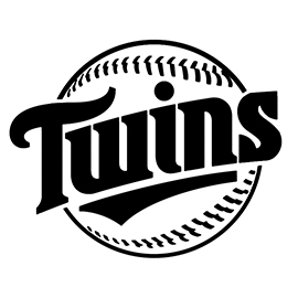 MLB – Minnesota Twins Logo Stencil