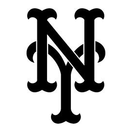 mlb new york mets logo stencil free stencil gallery