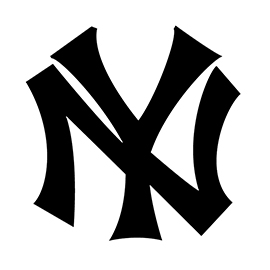 MLB – New York Yankees Logo Stencil
