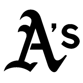 MLB – Oakland Athletics Logo Stencil