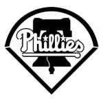 MLB - Philadelphia Phillies Logo Stencil