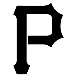 MLB – Pittsburgh Pirates Logo Stencil