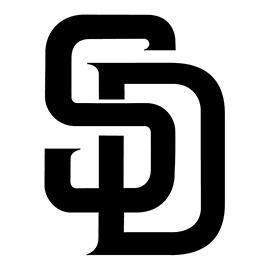 MLB – San Diego Padres Logo Stencil