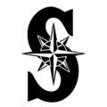 MLB - Seattle Mariners Logo Stencil