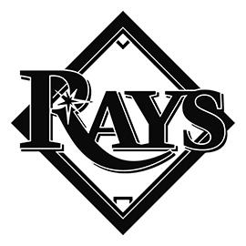 MLB – Tampa Bay Rays Logo Stencil