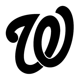MLB – Washington Nationals Logo Stencil
