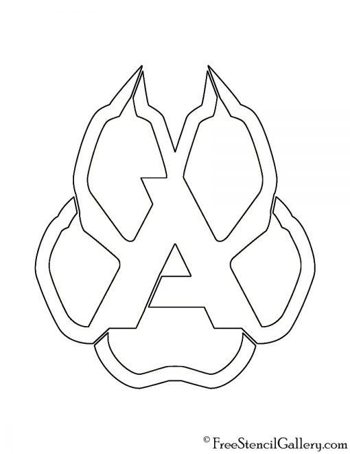 NHL - Arizona Coyotes Logo Stencil