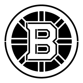 NHL – Boston Bruins Logo Stencil