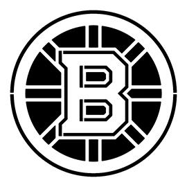 NHL – Boston Bruins Logo Stencil