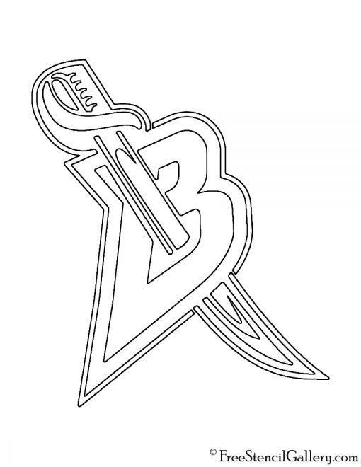 NHL - Buffalo Sabers Logo Stencil