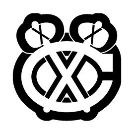 NHL – Chicago Blackhawks Logo Stencil