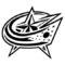NHL - Colombus Blue Jackets Logo Stencil