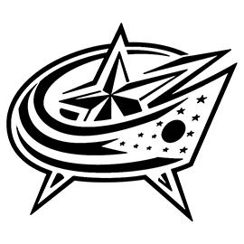 NHL – Colombus Blue Jackets Logo Stencil