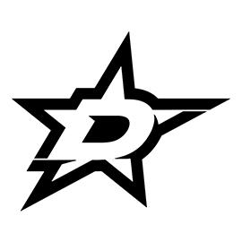 NHL – Dallas Stars Logo Stencil