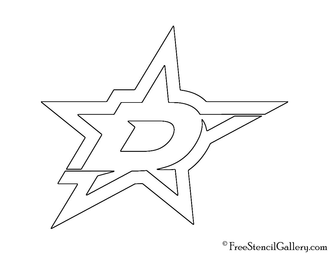 Stencils stars 2