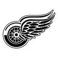NHL - Detroit Red Wings Logo Stencil