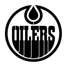 NHL – Edmonton Oilers Logo Stencil