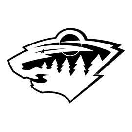 NHL – Minnesota Wild Logo Stencil