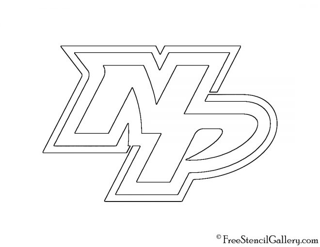 NHL - Nashville Predators Logo Stencil