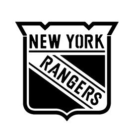 NHL – New York Rangers Logo Stencil