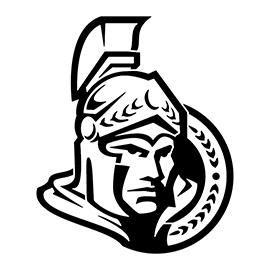 NHL – Ottowa Senators Logo Stencil