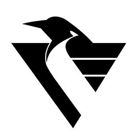 NHL – Pittsburgh Penguins Logo Stencil