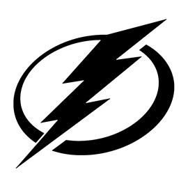 NHL – Tampa Bay Lightning Logo Stencil