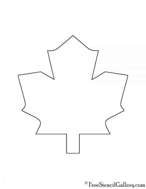Nhl toronto maple leafs logo stencil free gallery