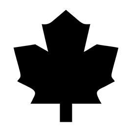 NHL – Toronto Maple Leafs Logo Stencil