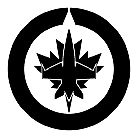 NHL – Winnipeg Jets Logo Stencil