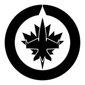 NHL – Winnipeg Jets Logo Stencil