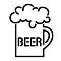 Neon Sign - Beer Stencil