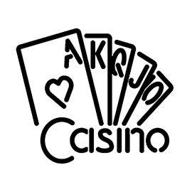 Neon Sign – Casino Stencil
