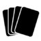 Playing Cards Stencil