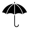 Umbrella 02 Stencil