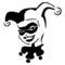 Harley Quinn 02 Stencil