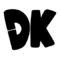 Donkey Kong Symbol Stencil