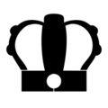 Find Mii Crown Symbol Stencil