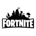 Fortnite Logo 02 Stencil