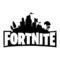 Fortnite Logo 02 Stencil