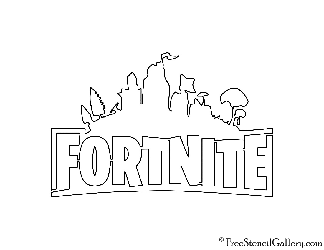 Superb image pertaining to fortnite logo printable