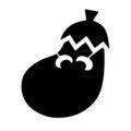 Ice Climbers Eggplant Symbol Stencil