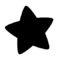 Kirby Warp Star Symbol Stencil