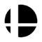 Super Smash Bros Logo Stencil